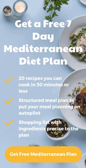 Mediterranean Diet Food & Shopping List (PDF Included