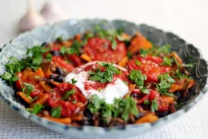 Roasted Tomato and Lentil Stew