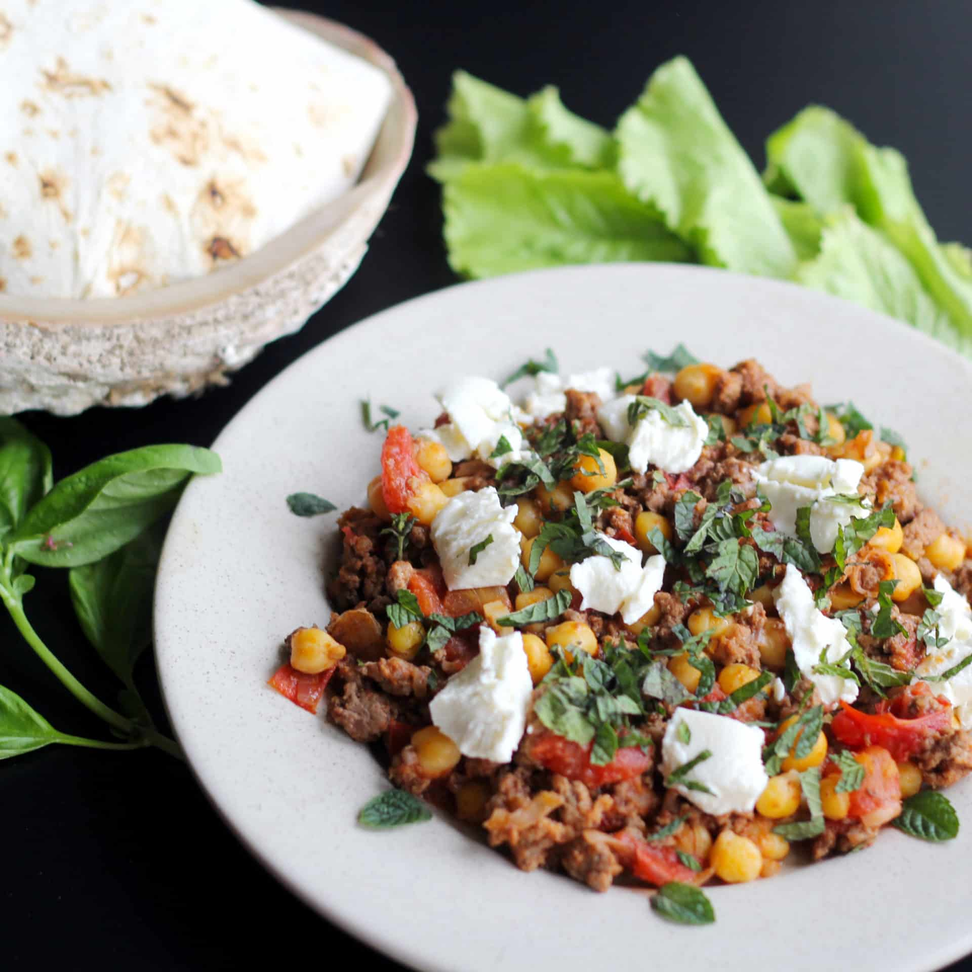 Quick and Easy Chickpea Moussaka (30 Mins)