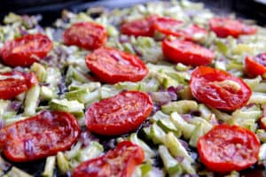 Butterbean and Roasted Vegetable Salad
