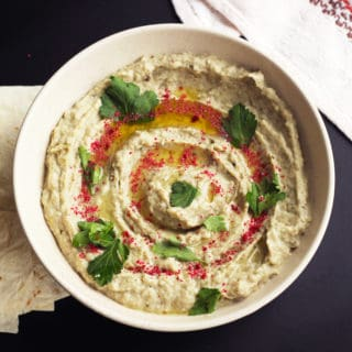 Baba Ganoush without Tahini