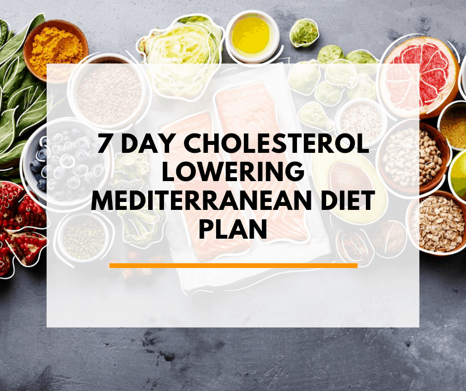 High Cholesterol Low Cholesterol Diet Plan Pdf