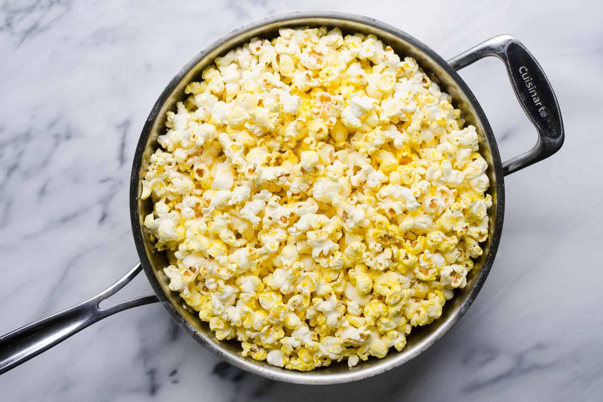 is popcorn allowed on a mediterranean diet